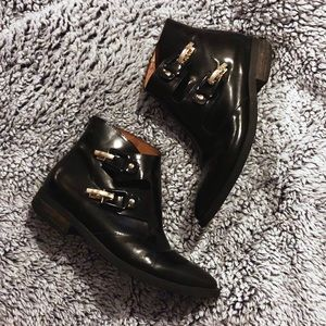 PRICE FIRM • Vintage Double Monk Strap Booties